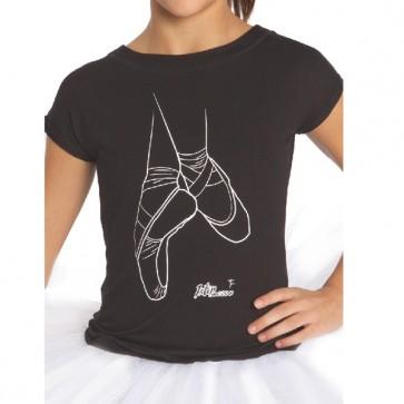 camiseta ballet intermezzo 6374 camlove