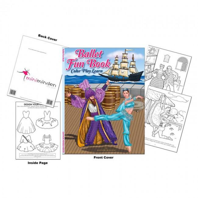 Libro para Colorear de Ballet Gaynor Minden - Fun Book