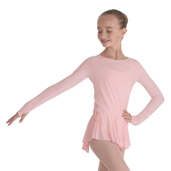 Camiseta Vestido Niña Ballet Exclusivo - Mirella M723C
