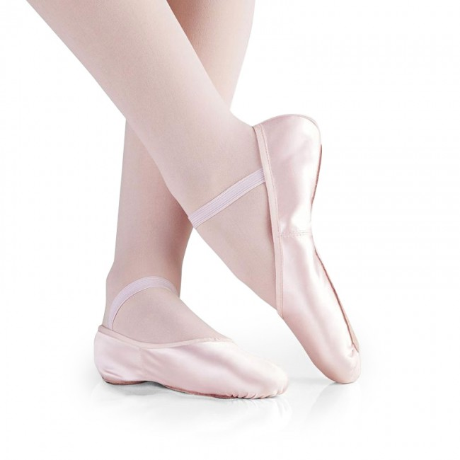 Zapatillas Padre Navidad de las señoras de ballet