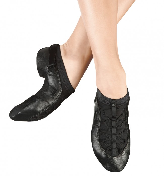 Capezio - Chaussures De Danse En Cuir Pour Les Femmes, Couleur Noire, Taille 34.5