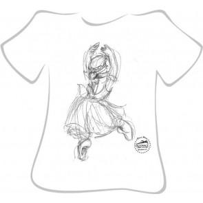 Camiseta Ballet So Dança - Ref.-008-La Sylphide