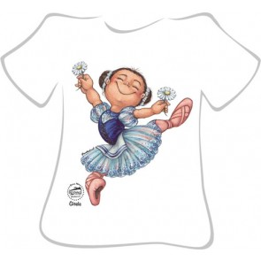 Camiseta Ballet So Dança - Ref. 052 Dina Nina as Giselle