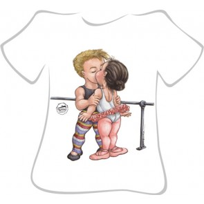 Camiseta Ballet So Dança - Ref. 073