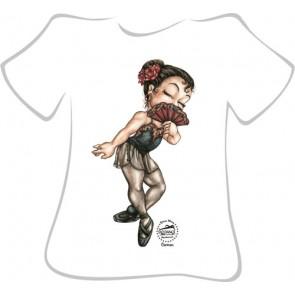 Camiseta Ballet So Dança - Ref. 086 Carmen