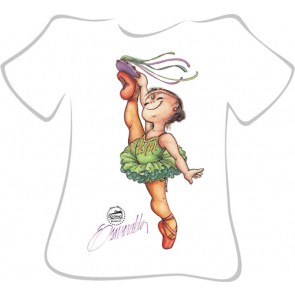 Camiseta Ballet So Dança - Ref. 155
