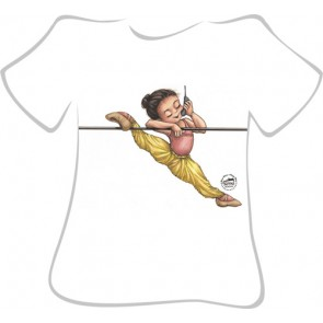 Camiseta Ballet So Dança - Ref. 214