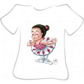 Camiseta Ballet So Dança - Ref. 245 Arlequinade
