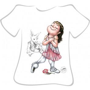 Camiseta Ballet So Dança - Ref. 283