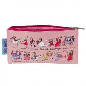 Estuche lápices Princesas - 81PC regalo para niñas