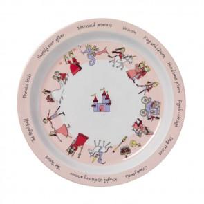 Plato de la colección Princesas - 81PL