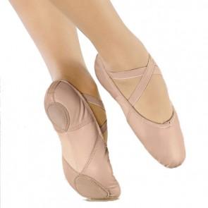Zapatilla Ballet Piel So Dança - BAE11
