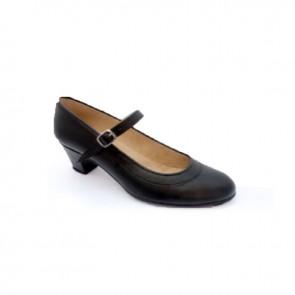 Zapato Flamenco Español Ballpilmar - 569 Piel