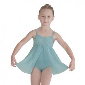 Maillot con Falda Niña Ballet Exclusivo Bloch - CL8158 Decrete