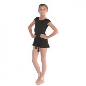 Short Exclusivo Ballet con faldita para Niña Bloch - CR7604 Tuvia
