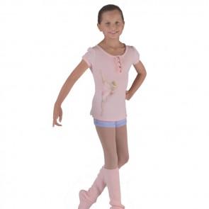 Camiseta de Ballet para niña Exclusiva - Bloch CZ9012