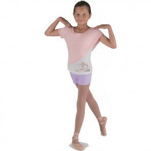 Camiseta de Ballet Niña Exclusiva - Bloch CZ9022