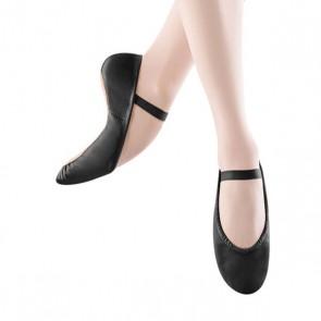 Zapatilla Ballet Oferta Piel Bloch – S0205G Dansoft Color negro, para niño y niña.