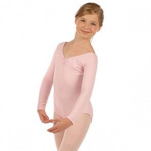 Maillot Manga Larga Ballet Niña Capezio - CC460C