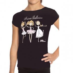 Camiseta Ballet Intermezzo - 6376 Camprima