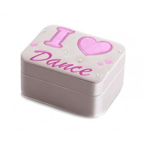 "Joyero de Ballet Katz - JB-2266 ""I love dance"" Bonito regalo para bailarinas."