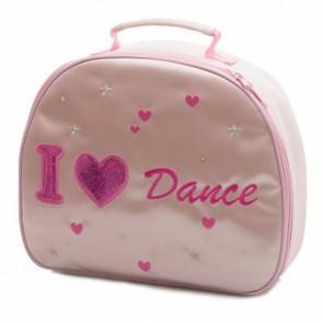 """Libreta de Ballet Katz - NB-2264 """"I love dance"""" Neceser regalo de ballet (con palabras """"love ballet"""" bordadas)"""