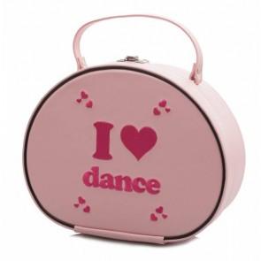 """Bolso-tocador de Ballet Katz - KB67 """"I love dance"""""""