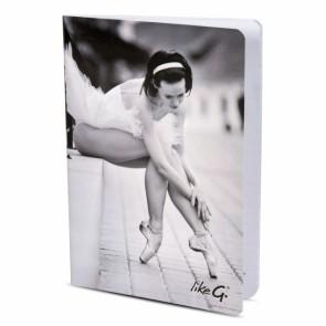 Libreta A5 Ballet LikeG - LG-QPR25