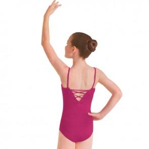 Original maillot para comprar online tienda de ballet para niña en color rosa fucsia.