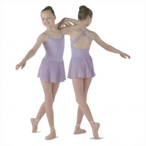 Maillot Ballet Faldita Niña Mirella - M270C