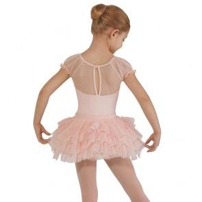 Conjunto de maillot y tutú exclusivo de ballet para niña.