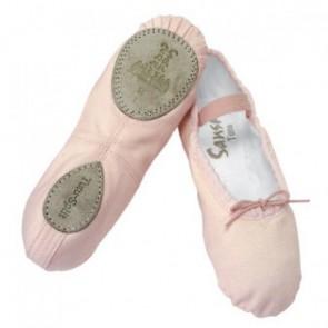 Zapatilla Ballet Tela Niña Sansha - Split-Tutu