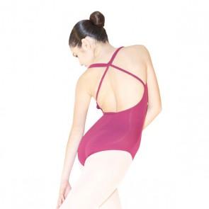Maillot Ballet Shido - 1007 London con espalda cruzada