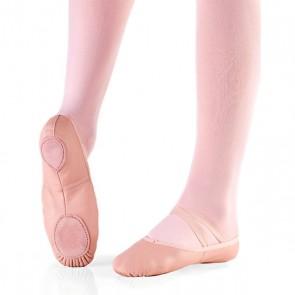 zapatilla ballet piel liquidación muy barata