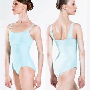 Maillot de niña y mujer de tirantes original con relieve de ballet.