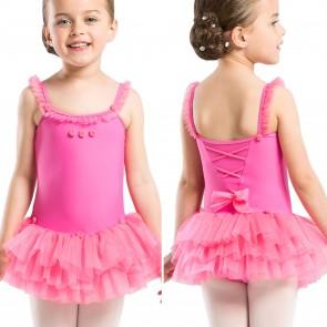 Maillot con Tutú de Ballet Niña Wear Moi - Praline