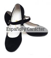 Zapatos de caracter y flamenco