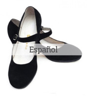 Zapatos de flamenco