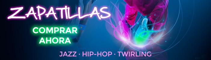 Calzado para danza moderna, jazz, hip-hop, twirling