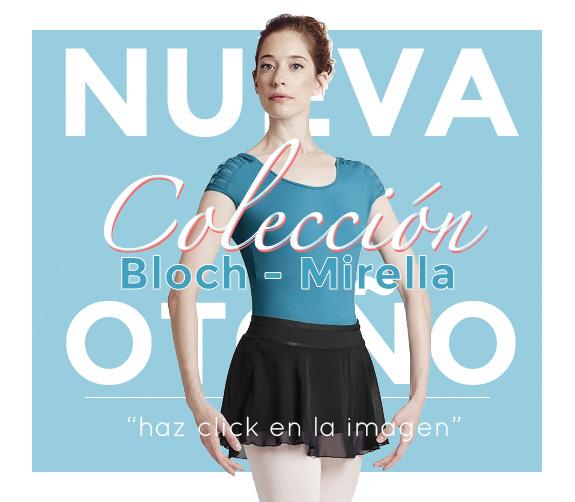 Novedades en regalos de ballet, maillots, calentadores, puntas...todo por nueva colección de bloch tu ropa de ballet.