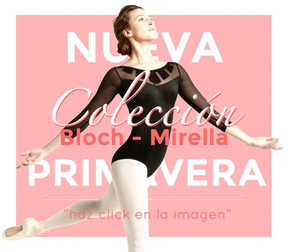 Nueva colección de maillots y ropa de de ballet de Bloch y Mirella, los mejores precios para bailarinas.