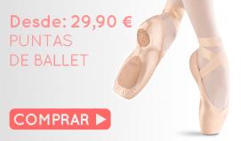 Comprar ahora puntas de ballet baratas y de calidad