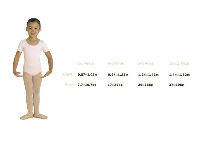Tallaje Bloch Medias Infantil