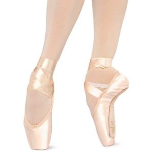 Partes de una punta de ballet.