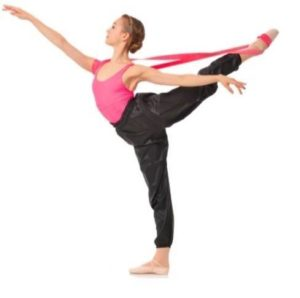 La mejor banda para estiramientos en ballet