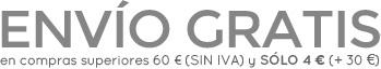Envio gratis en tu tienda de ballet online para pedidos de mas de 60 euros
