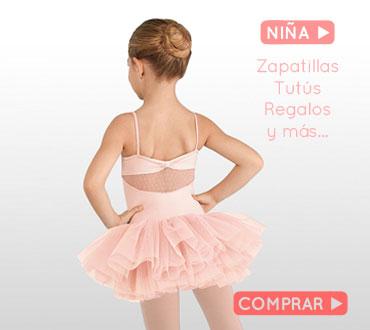 Comprar ropa de ballet para NIÑA