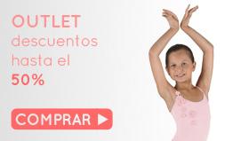 Visita nuestro outlet de ballet: maillots, ropa de ballet, zapatillas puntas y más y tambien regalos de ballet a precios unicos.